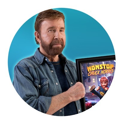 Nonstop Chuck Norris for PC and Mac
