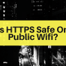is HTTPS safe on public wifi