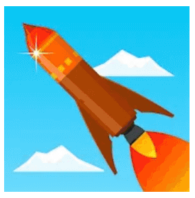 download rocket sky